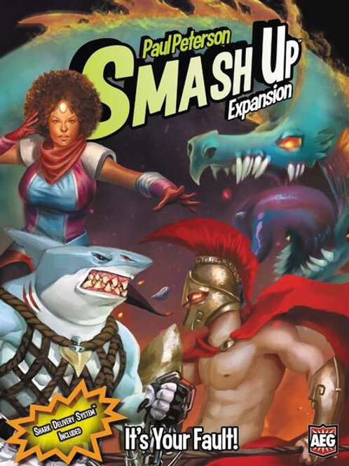 Smash Up: It`s Your Fault Expansion