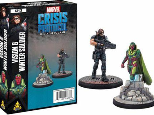 Marvel Crisis Protocol Vision & Winter Soldier
