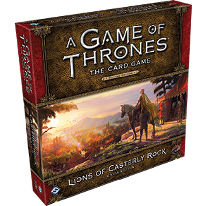 Game of Thrones 2nd Edition LCG: Lions of Casterly Rock