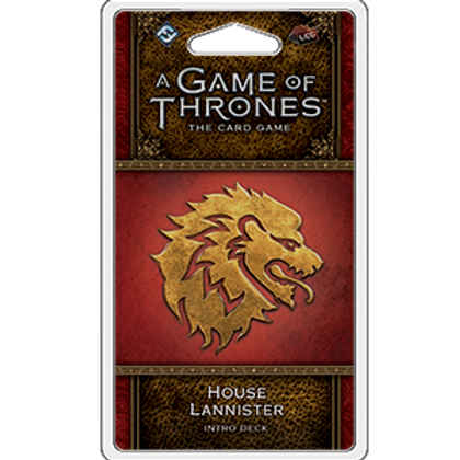 Game of Thrones 2nd Edition LCG: House Lannister Intro Deck