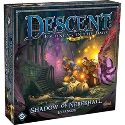 Descent Journeys in the Dark 2nd Edition: Shadow of Nerekhall