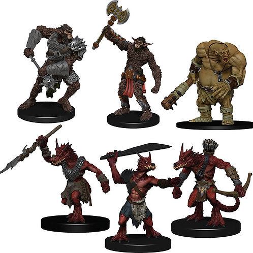 D&D Fantasy Miniatures: Icons of the Realms Monster Pack Cave Defenders
