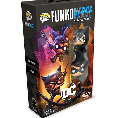 POP! Funkoverse Strategy Game DC Comics 101 Expandalone
