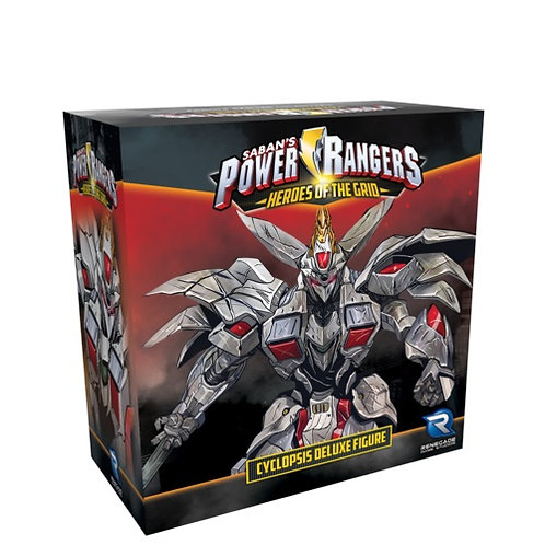 Power Rangers - Heroes of the Grid: Cyclopsis Deluxe Figure