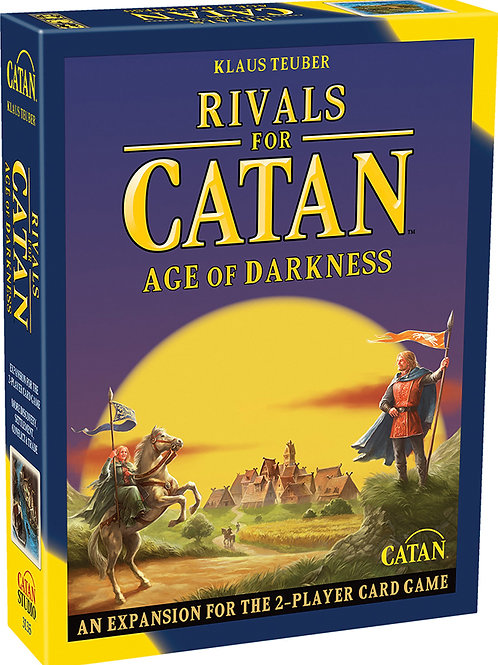 Catan: Rivals for Catan - Age of Darkness Expansion