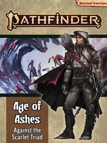 Pathfinder RPG: Adventure Path - Age of Ashes Part 5 - Against the Scarlet Triad