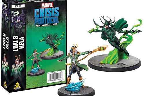 Marvel Crisis Protocol Loki & Hela