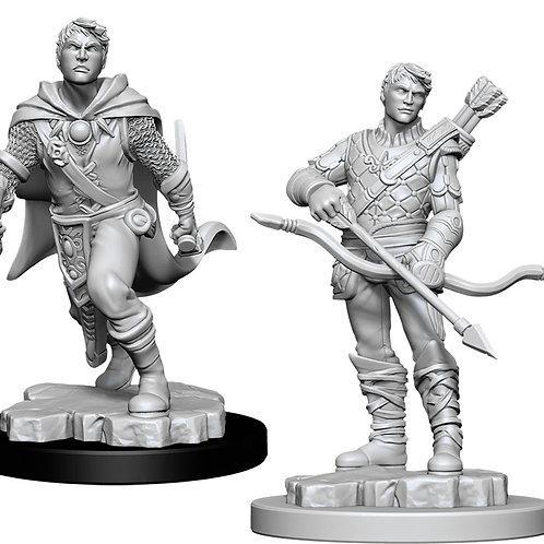 D&D  Unpainted Miniatures: W11 Male Human Ranger