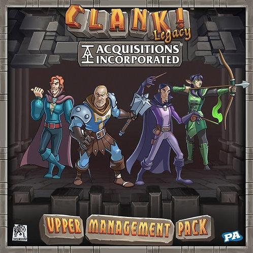 Clank!: Legacy - Acquisitions Incorporated - Upper Management Pack