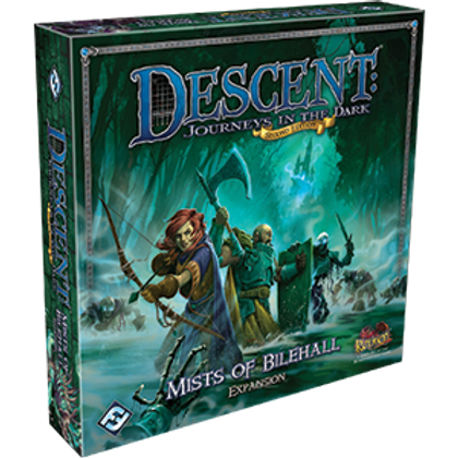 Descent Journeys in the Dark 2nd Edition: Mists of Bilehall