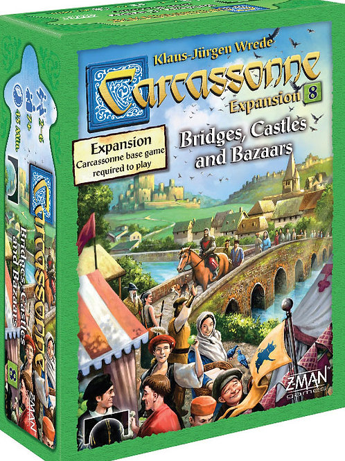Carcassonne: Expansion 8 - Bridges Castles Bazaars