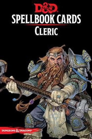 Dungeons and Dragons RPG: Spellbook Cards - Cleric Deck (149 cards)