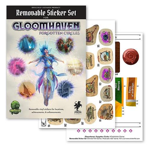 Gloomhaven Removable Sticker Set: Forgotten Circles