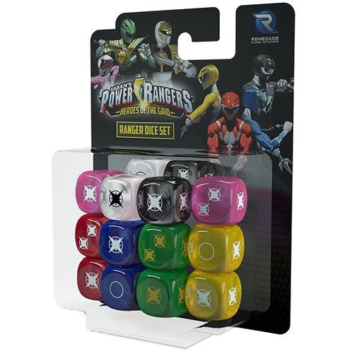 Power Rangers - Heroes of the Grid: Ranger Dice Set