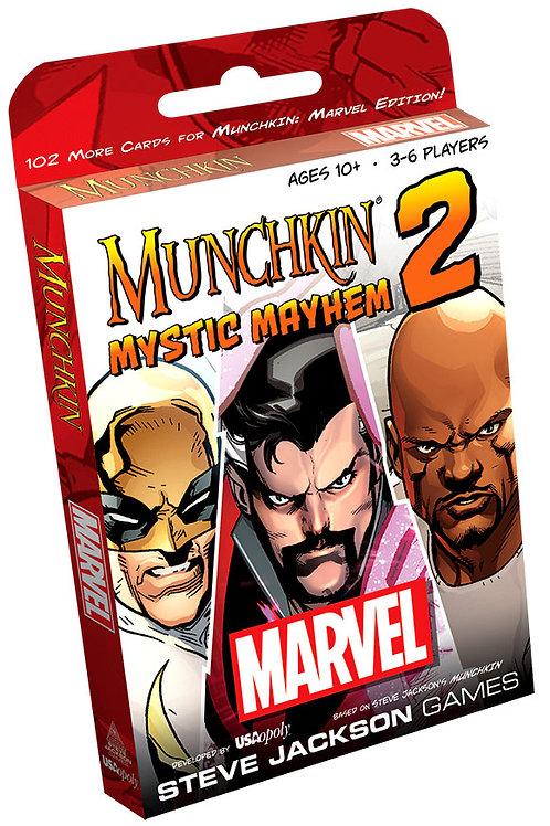 Munchkin Marvel Edition 2 - Mystic Mayhem Expansion