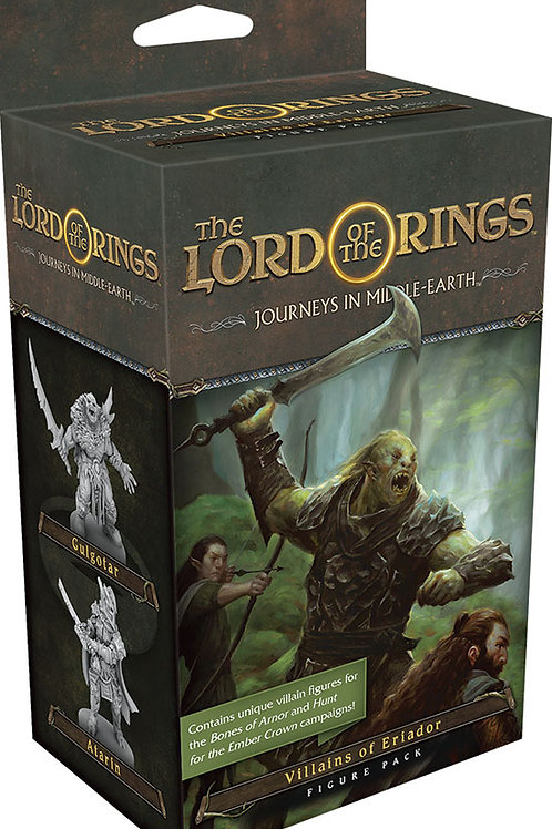 The Lord of the Rings: Journeys in Middle-earth - Villains of Eriador Figure Pac