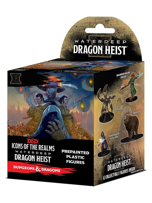 D&D Fantasy Miniatures: Icons of the Realms Set 9 Waterdeep Dragon Heist Booster