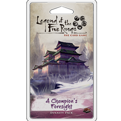 Legend of the Five Rings LCG: Champion's Foresight