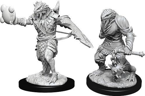 D&D  Unpainted Miniatures: W11 Male Dragonborn Paladin