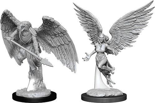 D&D  Unpainted Miniatures: W11 Harpy & Arakocra