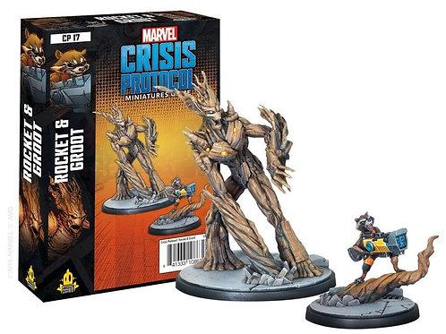 Marvel Crisis Protocol Rocket & Groot