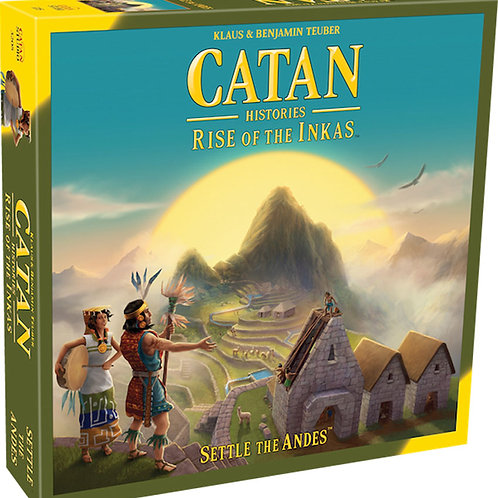 Catan: Catan Histories - Rise of the Inkas (stand alone)