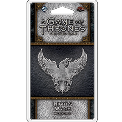 Game of Thrones 2nd Edition LCG: Night's Watch Intro Deck