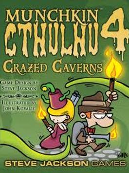 Munchkin: Munchkin Cthulhu 4 - Crazed Caverns