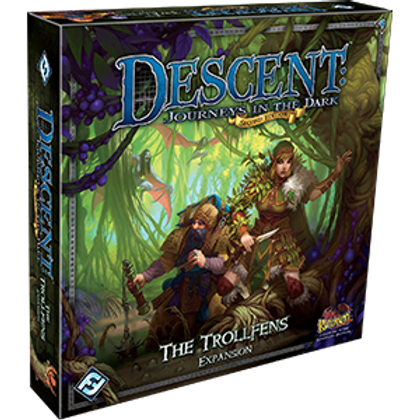 Descent Journeys in the Dark 2nd Edition: The Trollfens