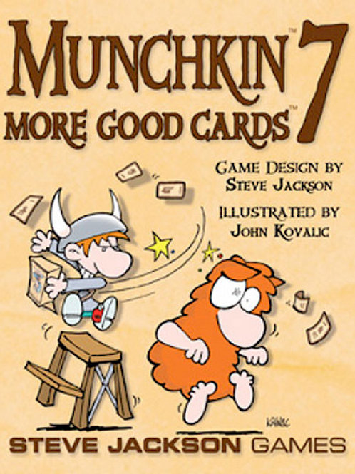 Munchkin: Munchkin 7 - Cheat With Both Hands