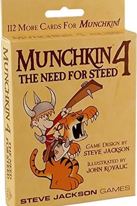 Munchkin: Munchkin 4 - Need for Steed
