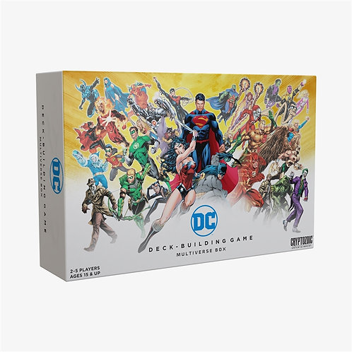DC Deck-Building Game Multiverse Box