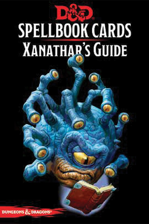 Dungeons and Dragons RPG: Spellbook Cards - Xanathar`s Guide Deck (95 cards)