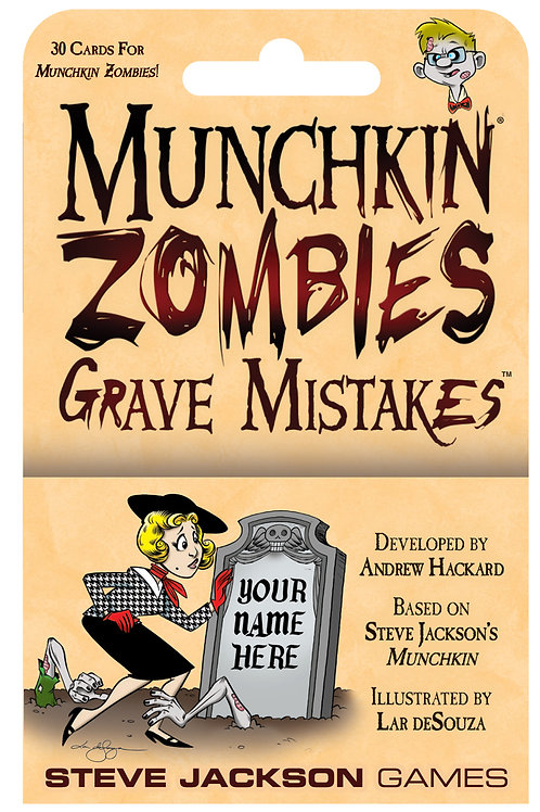 Munchkin Munchkin Zombies - Grave Mistakes