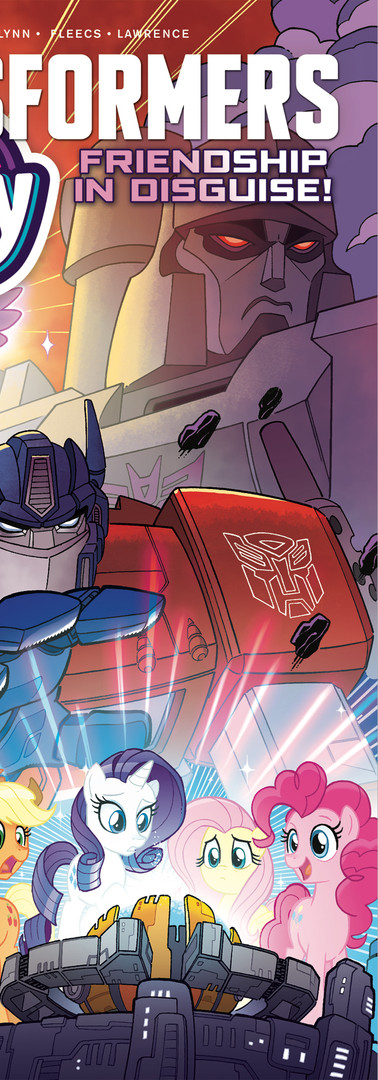 MY LITTLE PONY TRANSFORMERS #1