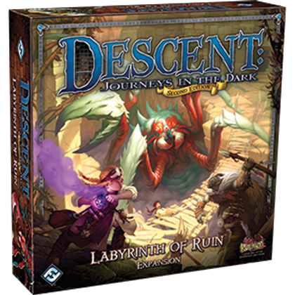 Descent Journeys in the Dark 2nd Edition: Labyrinth of Ruin
