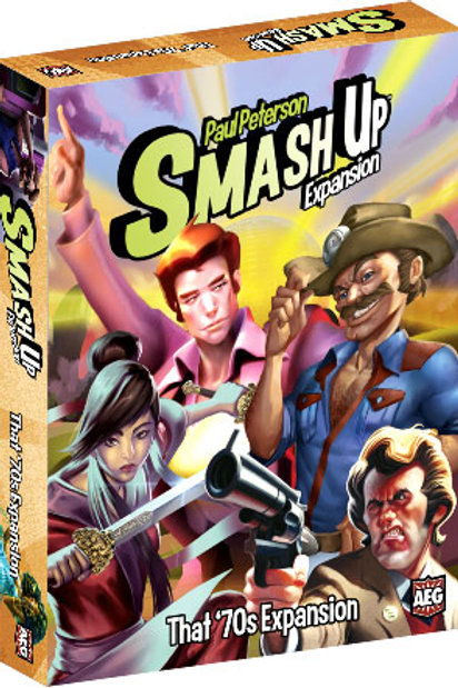Smash Up: That `70s Expansion