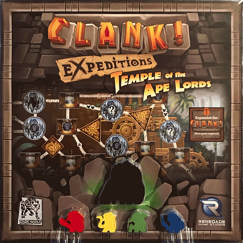 Clank!: Expeditions - Temple of the Ape Lords Expansion
