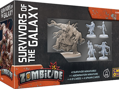 Zombicide: Invader - Survivors of the Galaxy Box Set