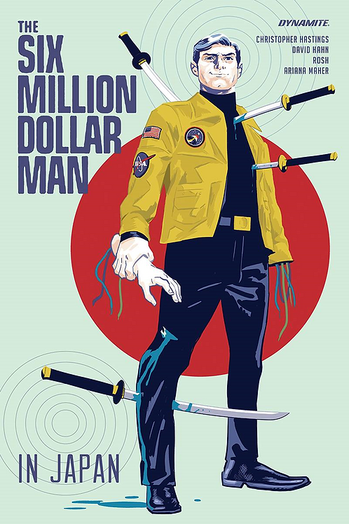 SIX MILLION DOLLAR MAN IN JAPAN TP