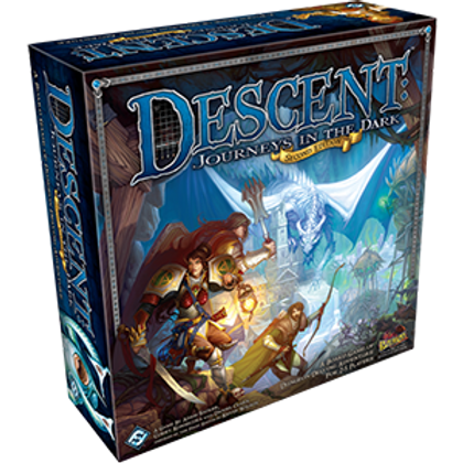 Descent Journeys in the Dark 2nd Edition: Core Set