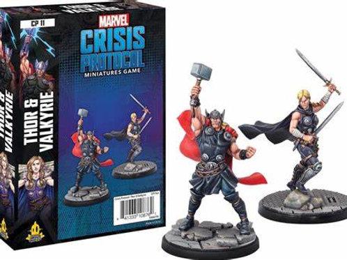 Marvel Crisis Protocol Thor & Valkyrie
