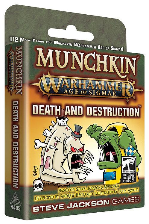 Munchkin Munchkin Warhammer Age of Sigmar - Death and Destruction Expansion