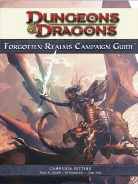 Dungeons & Dragons: Forgotten Realms: Campaign Guide