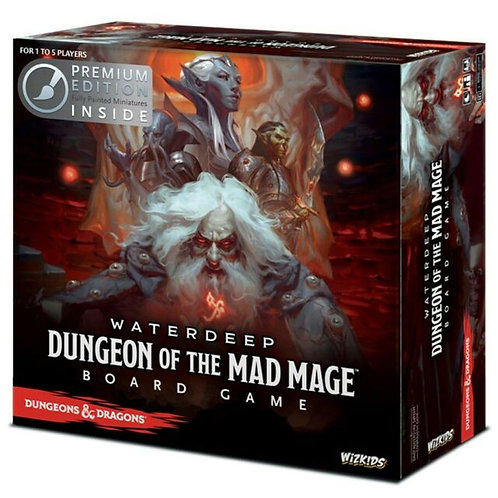 Dungeons & Dragons: Dungeon of the Mad Mage Adventure System Board Game Premium