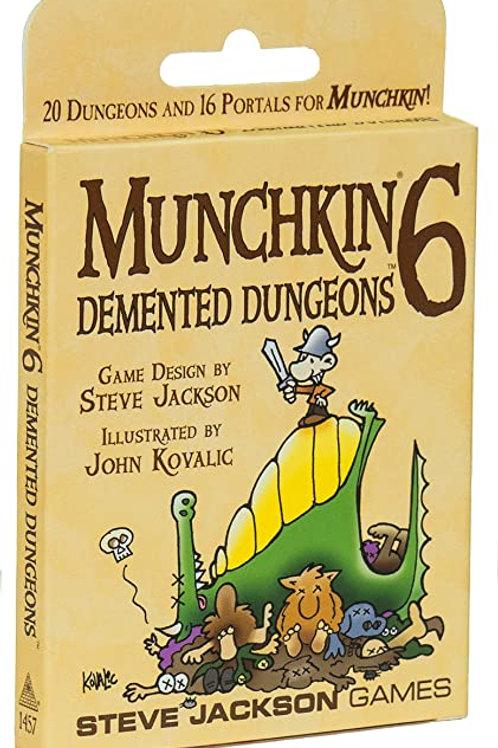 Munchkin: Munchkin 6 - Demented Dungeons