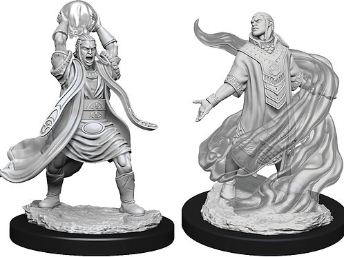 D&D  Unpainted Miniatures: W11 Male Elf Sorcerer