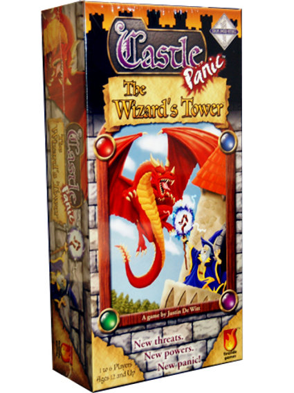 Castle Panic: The Wizards Tower Expansion