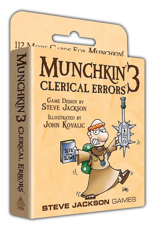 Munchkin Munchkin 3 - Clerical Errors