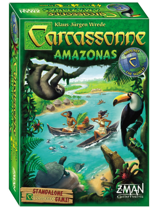 Carcassonne: Amazonas (stand alone)